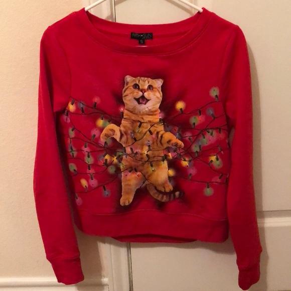 Light Up Christmas Sweater.Light Up Christmas Sweater